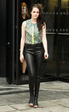 Kristen Stewart headed out for Balenciaga.