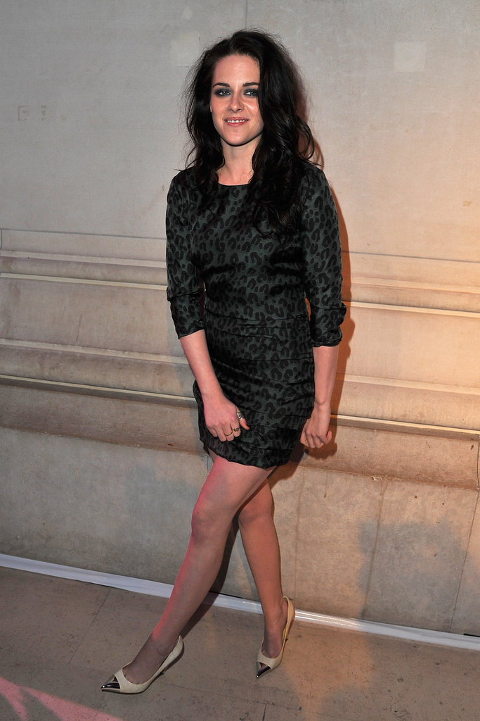 Kristen Stewart at the opening of the Louis Vuitton Marc Jacobs Exhibit in Paris.