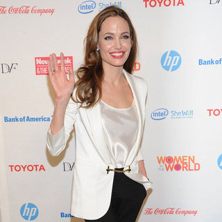 Angelina Jolie Women in the World Summit Pictures