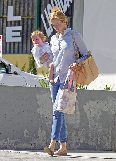Nicole Kidman and Faith Urban were together in LA.
