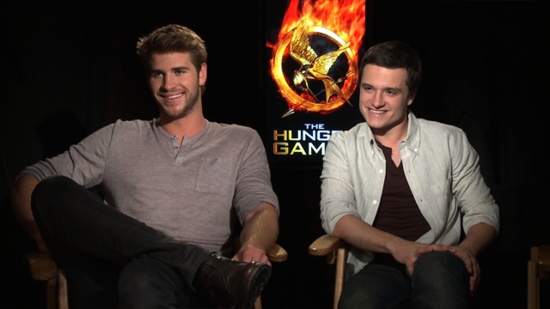 "Josh Hutcherson and Liam Hemsworth on the ""Unpredictable"" Jennifer Lawrence and Their Hunger Games Prep"