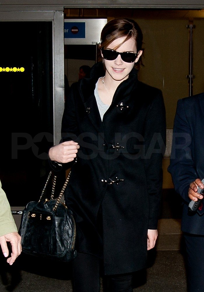 Emma Watson headed to California.
