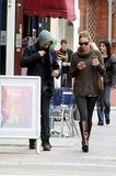 Kate Hudson and Matthew Bellamy explored London.