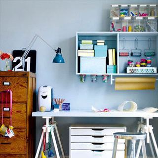 15 Tips to Organize a Home Office and Other Savvy Hits of the Week!