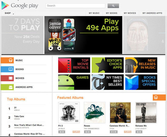 Introducing Google Play