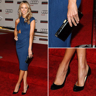Stacy Keibler Cutout Asos Dress