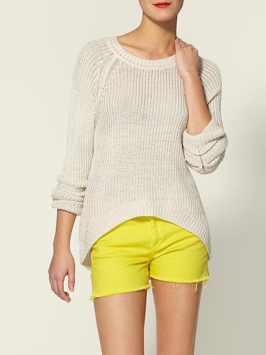 Classic appeal gets an update with an asymmetrical hemline.  RD Style High Low Pullover ($69)