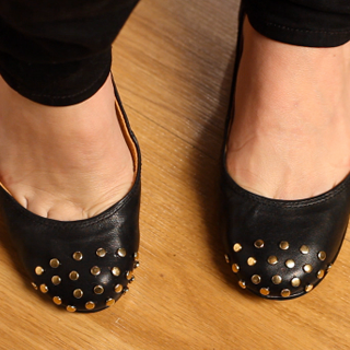 DIY: How to Stud Ballet Flats