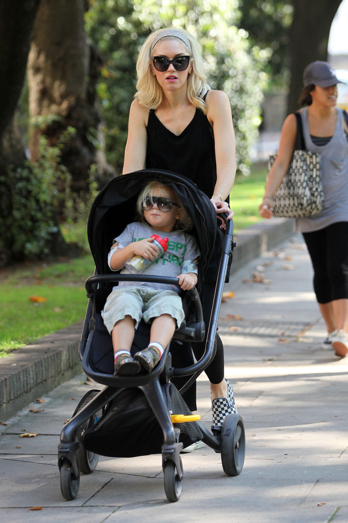 Zuma Rossdale and Mom Gwen Stefani