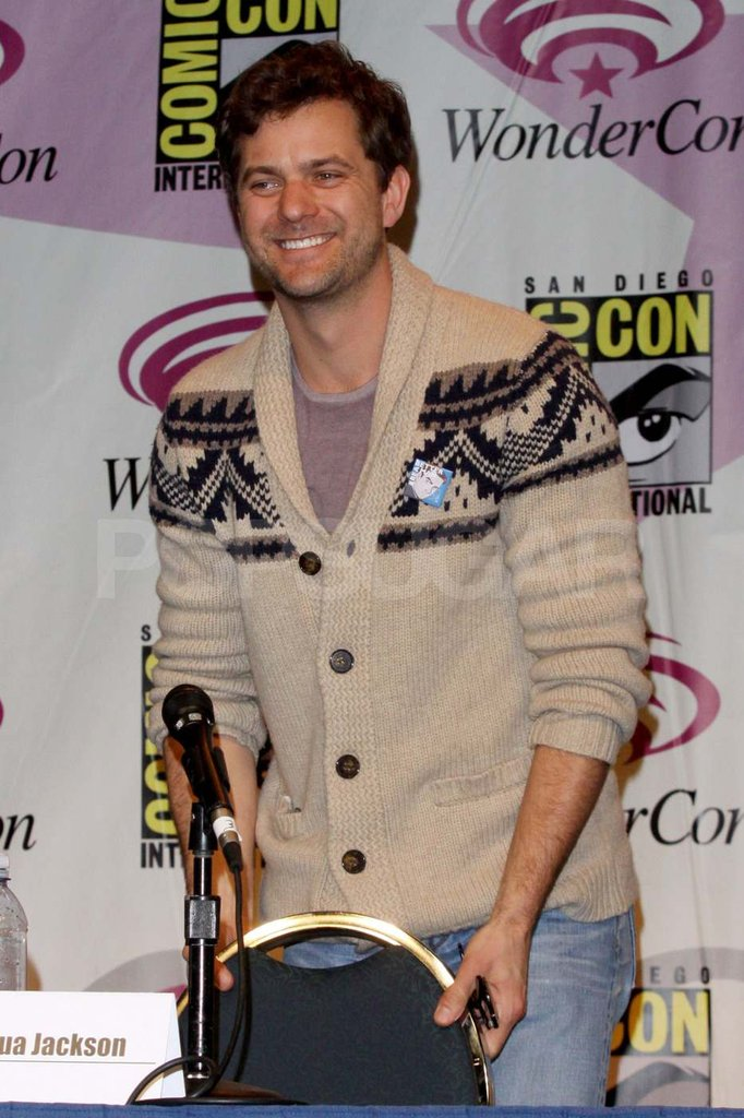 Joshua Jackson at WonderCon.