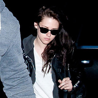 Kristen Stewart at LAX After WonderCon Pictures