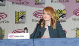Emma Stone Debuts Lighter Locks at WonderCon