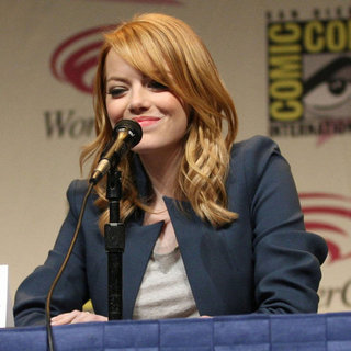 Emma Stone at WonderCon Pictures