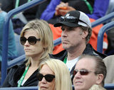 Will Ferrell watched tennis in Indian Wells.