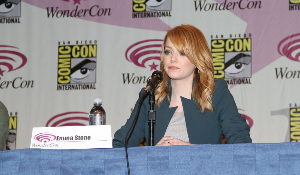 Emma Stone talking The Amazing Spider-Man at WonderCon.