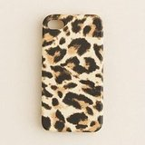 J.Crew leopard-print iPhone 4S case ($25)
