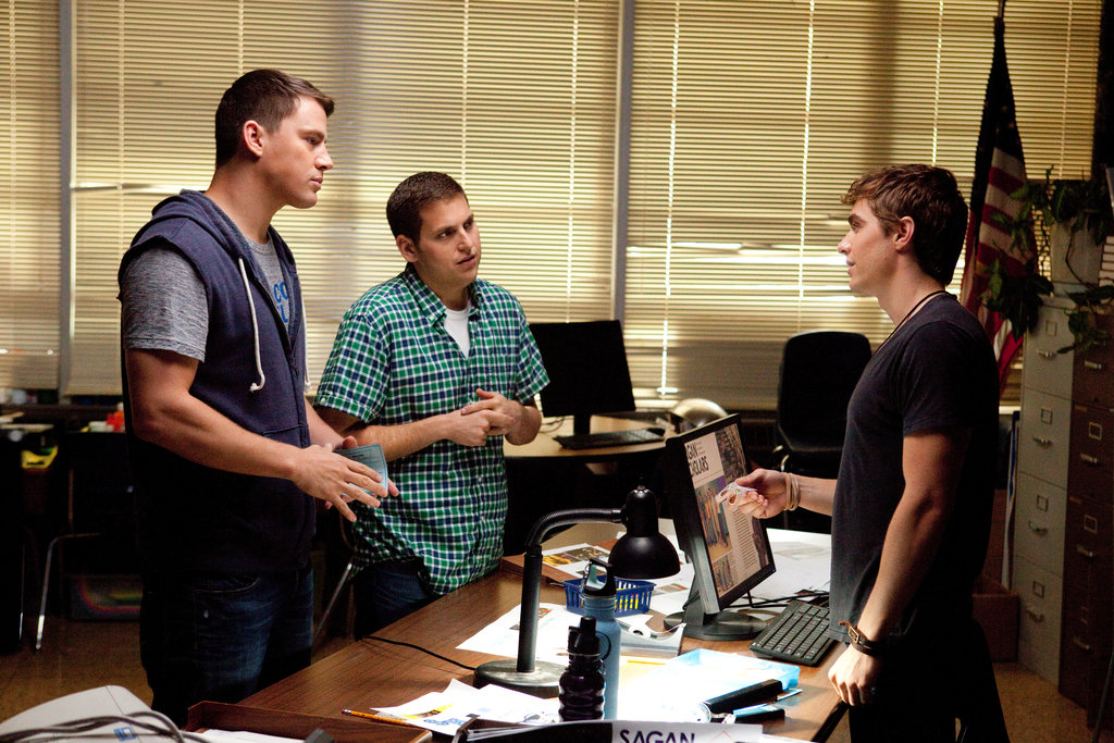 Channing Tatum, Jonah Hill, and Dave Franco in 21 Jump Street. Photo courtesy of Sony Pictures