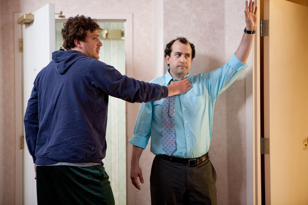 Jason Segel and Steve Zissis in Jeff, Who Lives at Home. Photo courtesy of Paramount Pictures