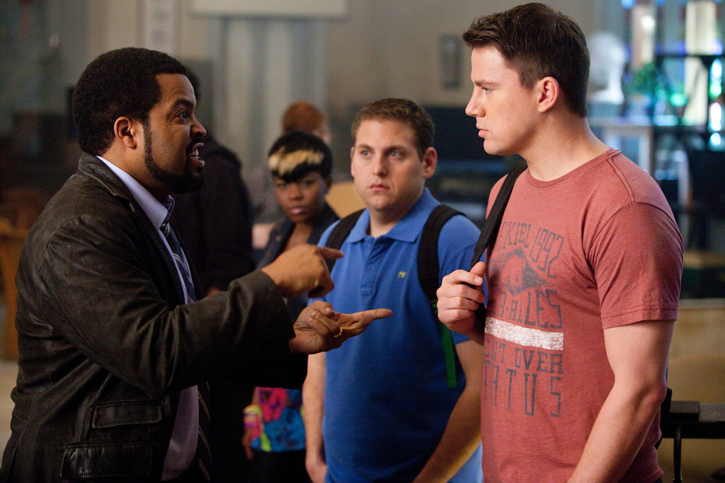 Ice Cube, Jonah Hill, and Channing Tatum in 21 Jump Street. Photo courtesy of Sony Pictures