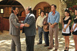 Diego Luna, Pedro Armendáriz Jr., and Will Ferrell in Casa de mi Padre. Photo courtesy of Lionsgate