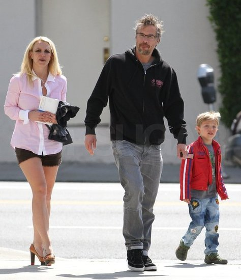 Britney Spears stepped out in LA with Jason Trawick and her son Jayden.