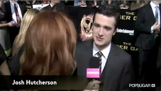 "Video: Josh Hutcherson Is ""Very Proud"" of Anticipated The Hunger Games Cave Scene"