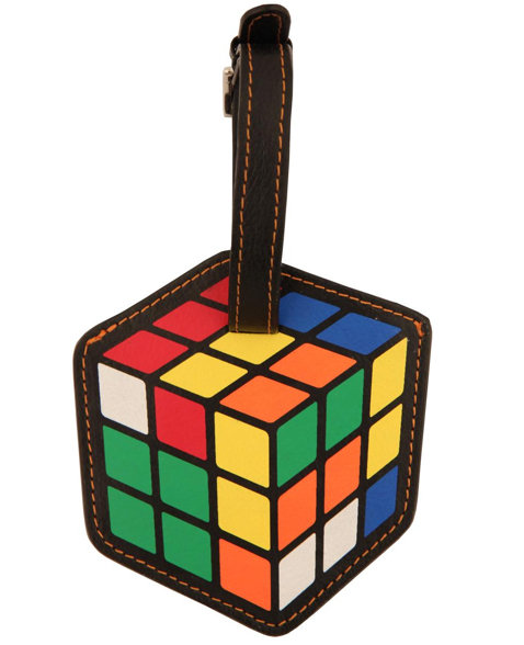 Rubik's Cube Luggage Tag ($12)