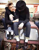 Agyness Deyn Models and Designs for Dr Martens