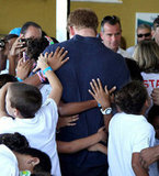Prince Harry got some love in Brazil.