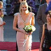 Princess Charlene of Monaco Pictures Opening Grace Kelly Exhibition in Bendigo