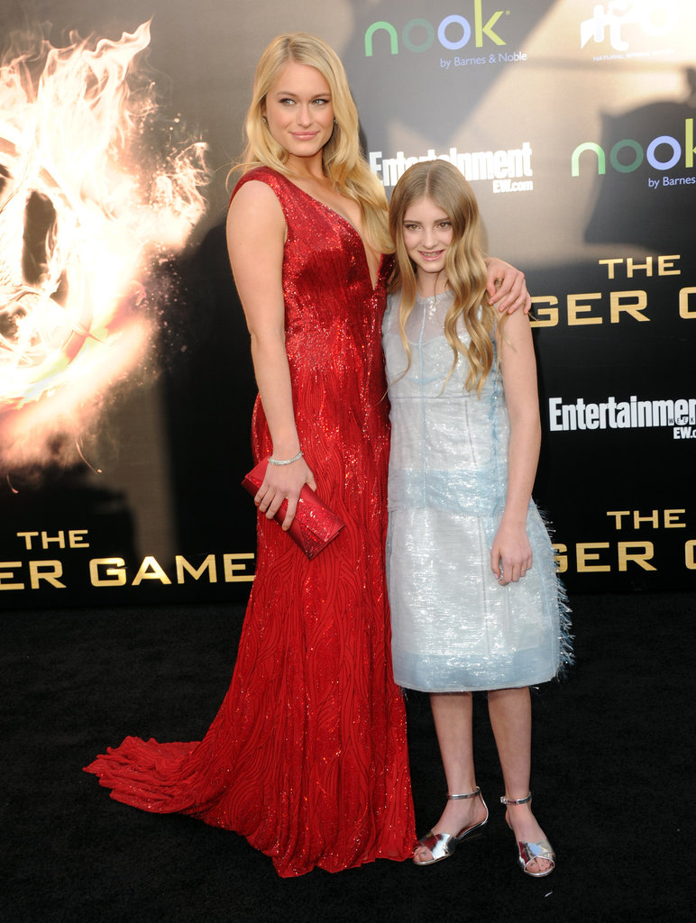Leven Rambin and Willow Shields