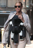 Beyoncé Knowles and Blue Carter Enjoy a Sunny City Day