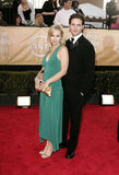 Peter Facinelli and Jennie Garth attended the Feb. 2005 SAG Awards.