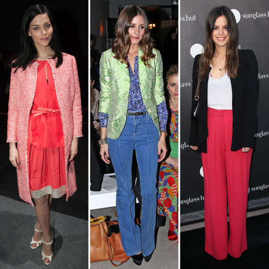 Celeb-Inspired Work Brights