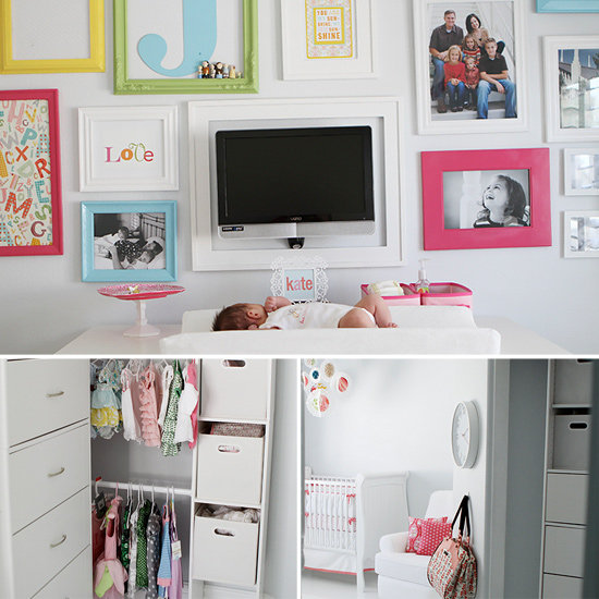 Room Makeover: From Craft Room to Baby Kate's Crib