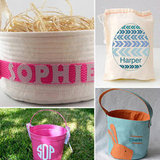 """Egg""-cellent! 5 Personalized Easter Baskets to Order Now"