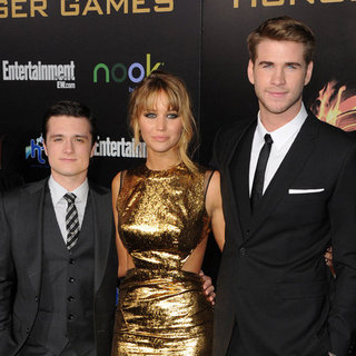 Celebrity Pictures at The Hunger Games World Premiere in LA