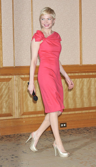 Michelle Williams at a My Week With Marilyn press conference.