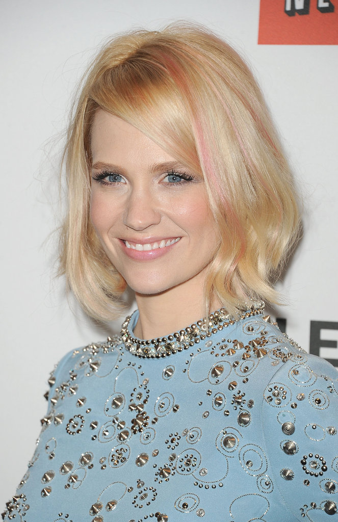 January Jones at PaleyFest.