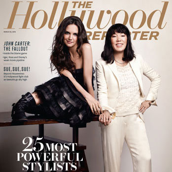 Hollywood Reporter Stylist Issue Pictures