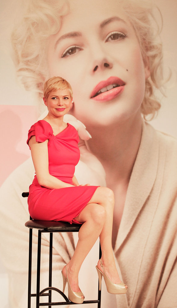 Michelle Williams went to Japan for My Week With Marilyn.