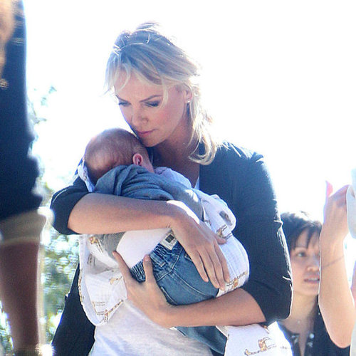 Charlize Theron Adopts Baby
