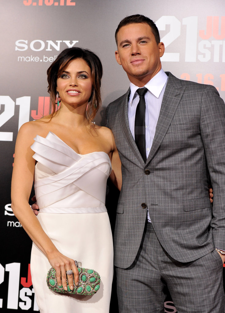 Jenna Dewan stepped out in support of Channing Tatum.