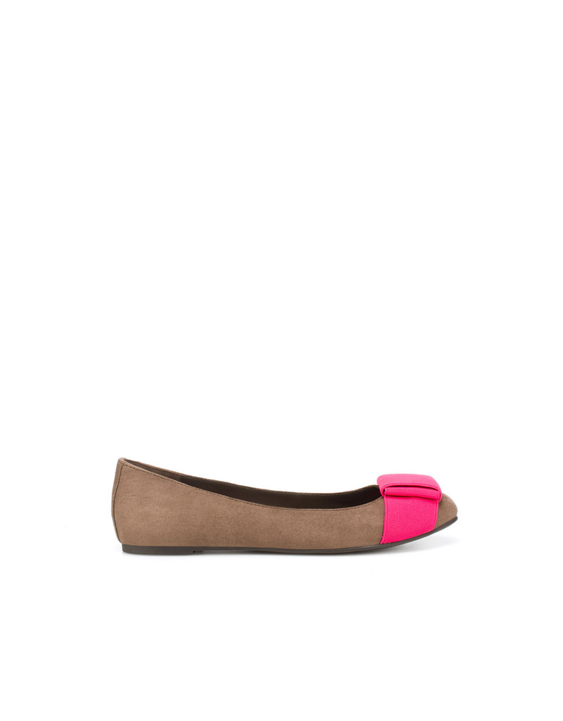 Spice up your everyday flats with these fun neon-tinged ballerinas.  Zara TRF Elastic Ballerina Flats ($36)