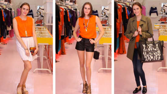 3 Ways to Style Orange For Any Occasion