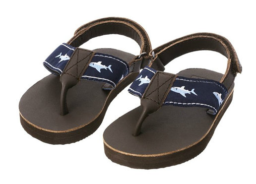 Janie and Jack Shark Leather Sandal ($29)