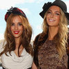 Jennifer Hawkins and Rebecca Judd Model Myer&#039;s 2012 Autumn Racing Collection