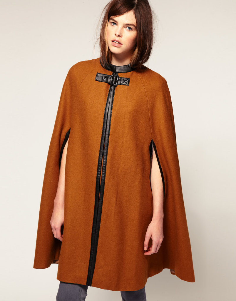 Just Female bow cape ($145, originally $265)