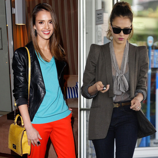 Jessica Alba Gives Us Not One, but Two Killer Outfits Today!