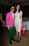 Jessica Alba and Minka Kelly Bring a Pop of Color to Brad Goreski's Kate Spade Dinner